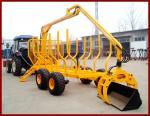 10MTまでクレーンmax.loading容量のatvの木製のトレーラーの安い価格