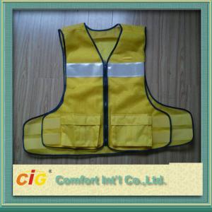 China La seguridad reflexiva de la alta visibilidad del poliéster concede Clohting con estándar del CE EN20471 on sale