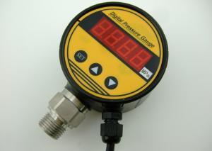 China Plastic Case 4-20mA Signal Output Ecomomic Pressure Controller Digital Pressure Gauge on sale