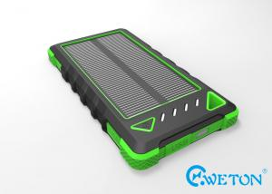China IP54 Rainproof 8000mAh Portable Solar Power Pack Shockproof on sale