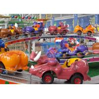 Indoor / Outdoor Amusement Park Rides For Kids , Mini Shuttle Ride With Light Systems