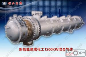 China Fuel Oil Explosion Proof Electric Heater Fluid Type Tube Heat Exchanger Structure on sale