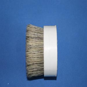 China Hankow Boiled Bristles Grey Double Boiled Pig Bristle 51mm For Food Paint Brushes on sale