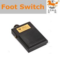 China Lema Foot pedal switch Industrial automation equipments, transport, pressing, medical treatment, test and etc. on sale