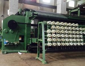 China Automatic Hexagonal Wire Netting Machine Gabion Mesh Machine 2200mm Width on sale