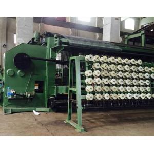 China Automatic Hexagonal Wire Netting Machine 2200mm Width , Gabion Mesh Machine on sale