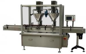 China Automatic Powder Filling Machine / Bottle Capping Machines for Coffee , Fruit Powder on sale