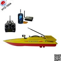 China remote control  bait boat   HYZ-150A   fish finder fishing boat with bait casting on sale