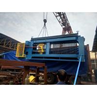 Hydraulic Control Gabion Wire Mesh Machine , Gabion Box Machine 80*100 Mesh