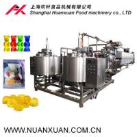 Shanghai Small capacity with low price Jelly candy production line /gelatin/pectin/gummy bear candy machine