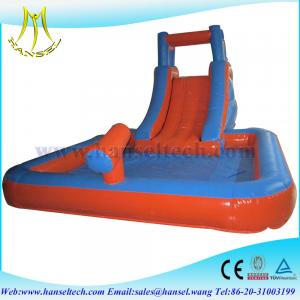 China Hansel cheap inflatable slides for sale, inflatable slide big on sale