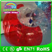 QinDa Inflatable loopy ball bubble soccer/bubble football