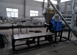 China PE Film Plastic Granules Machine , PE PP Masterbatch Granules Extrusion Machine on sale
