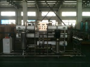 China 10 ton / h Purified Water Plant For automatic Water Treatment Equipments on sale