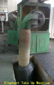 China Fully Automatic Steel Wire Take Up Machine With Inverter Motor 45KW on sale
