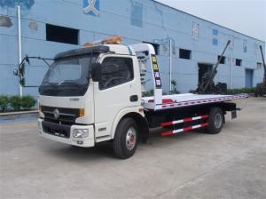 China Right Hand Drive Road Wrecker Truck , Special Purpose Truck SGS Standard on sale