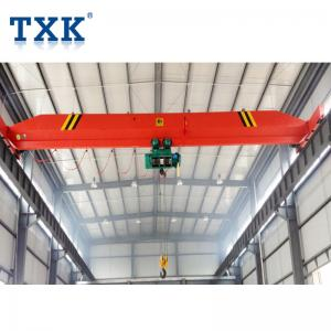 China 2Ton 3Ton Single Beam Overhead Bridge Crane With Wire Rope Hoist on sale