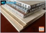China Light Weight High Strength Long Duration Stone Honeycomb Panel For Wall Decoration wholesale