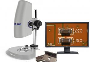 China LED Illumination Large Magnification Clear Image Video Measurement Microscope With Camera on sale