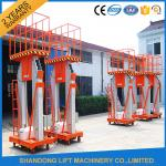 China 200kg 10m Movable Aerial Work Platform Lift , Hydraulic Safety Work Platform Rental wholesale