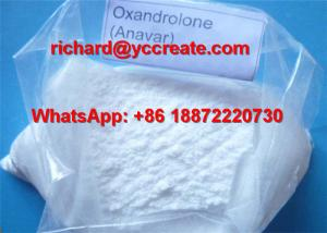 China White Crystalloid Powder Oxandrolone/Anavar for Muscle Gaining CAS 53-39-4 supplier