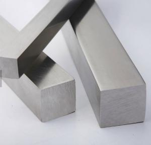 China Cold Drawn Solid Square Steel Bar / Bright Surface Stainless Steel Square Bar on sale