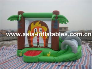 China super hero mini indoor combo inflatable bouncer combo on sale
