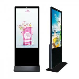 China 65 Inch Standalone Digital Signage LCD Advertising Screen 1080P 1920*1080 Resolution wholesale