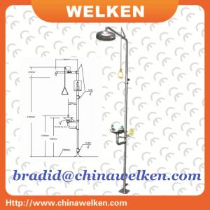 China Higher Stainless Steel, Lab and Chemical Used, Emergency Eyewash/shower on sale