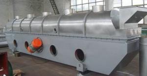 China Vibrating Fluidized Bed Dryer Machine For Grain Form , Powder Form And Crumb , 290 - 420kg/h on sale
