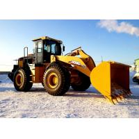 Large Digging Force Compact Front End Loader LW500FN With Shanghai Diesel Engine