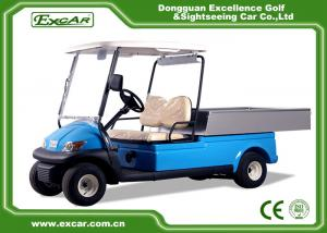 China 2 Seater Hotel Buggy Car , Electric Utility Golf Carts 100% Waterproof Accelerator on sale