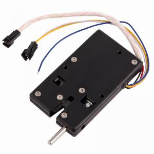 China Black Electronic Mailbox Lock , Aluminium Magnesium Alloy Letterbox Digital Lock on sale