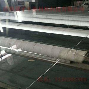 China Stocked ANXIN new wholesale max 8 x 5 feet transparent clear acrylic sheet perspex cast PMMA  sheets on sale