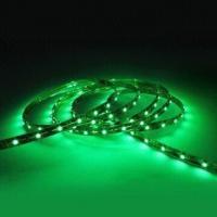 Non - waterproof Green DC 12V / 120 degree Ribbon 24W / 5 Meter LED Strip Light