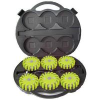 9 in 1 rechargeable LED emergency flares case