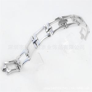 China A square mouth Watch strap Europe and the United States Personality Jewelry Brand Watch chain Foundry Customized on sale
