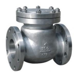 China Quiet Standard WOG Flanged Check Valve SS Swing Type ANSI 150LB on sale