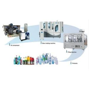China Fully Automatic Blow Molding Machine Excellent Structure Design Small Space on sale