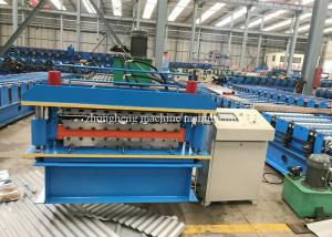 China Double Layer Roofing Sheet Roll Forming Machine For Two Ibr / Corrugated Sheets on sale