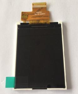 China 2.4 Inch Transflective TFT LCD Cell Phone Touch Screen / Mobile LCD Replacement on sale