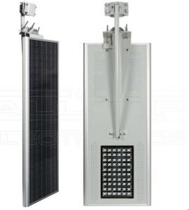 China solar led lights solar pole light with aluminum material lithium battery for 5 rainy days on sale