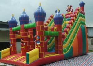 China Snake Model Inflatable Slippery Slide 0.3mm Thickness Good UV - Resistance on sale