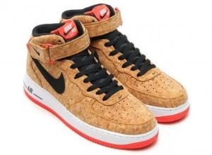 China NIKE AIR FORCE 1 MID CORK AF1 Wood Color Man's Sports Shoes Skateboard The Young Shoe Fast Shipping To Mostly Countries on sale