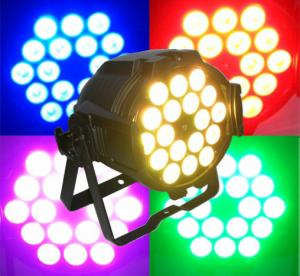 China Sound Activated Colorful Dj Moving Head Lights , DMX 512 LED Par Can Lighting on sale