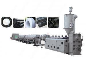 China PLC Control PE PP Plastic Pipe Extrusion Line , Single Screw Extruder Machine on sale