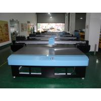 Fabric 1.5 x 1.3m Flatbed Digital UV Printer With adjustable Nozzle Temperature Voltage