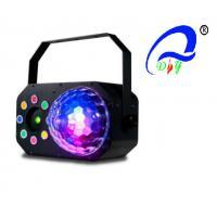 6 x 3W RGBWAV + 8 x 1W RGBA LED's  Gobo Effect, Strobe/Chase and Laser effect