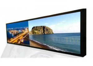 China Ultra Wide Touch Screen Digital Signage Windows 10 With TF USB HDMI Ports on sale