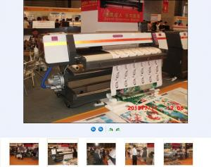 China 2.5m compared with 3.2m large format printer on sale